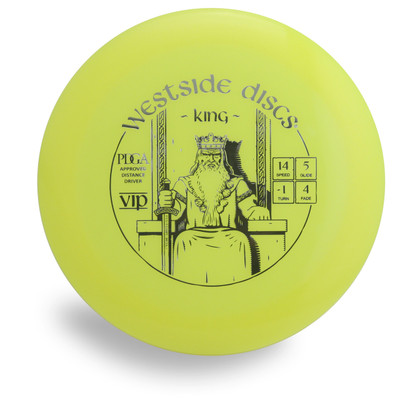 WESTSIDE VIP KING DISC GOLF DRIVER