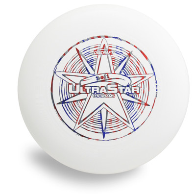 DISCRAFT SOFT ULTRA STAR ULTIMATE DISC - FLEXIBLE, EASY TO CATCH FRISBEE