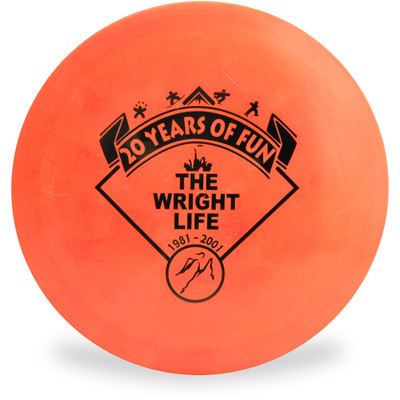 DISCRAFT DISC GOLF WRIGHT LIFE 20TH ANNIVERSARY O