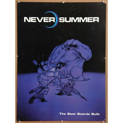 Never Summer Best Boards Built poster