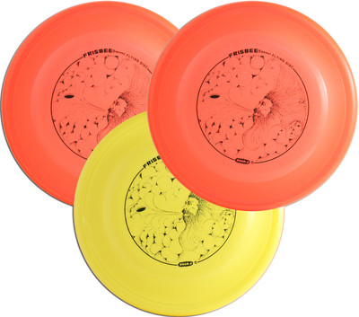 Wham-O FB6 FASTBACK Original Mold 3 Pack - Set of Three Frisbee Flying Discs