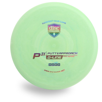 DISCMANIA D P3X DISC GOLF PUTTER