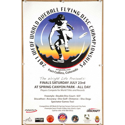2011 US Open Flying Disc Championships poster