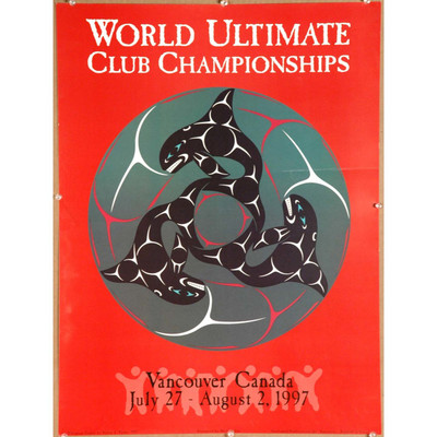 1997 World Ultimate Championships Vancouver poster
