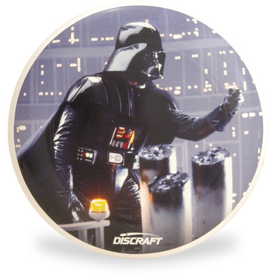 Discraft ULTRA-STAR - Star Wars Series SuperColor Ultimate Frisbee Disc - Father Darth - Top View