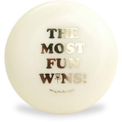 Innova DISC GOLF MINI MARKER - The Most Fun Wins Design in Glow and Swirl