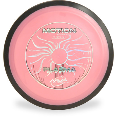MVP PLASMA MOTION Disc Golf Driver - front view pink