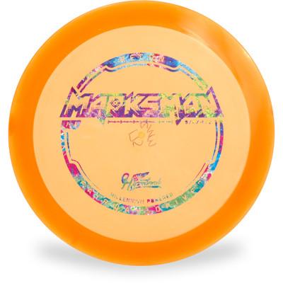 Hyzer Bomb RECON MARKSMAN Driver Golf Disc Orange Front View