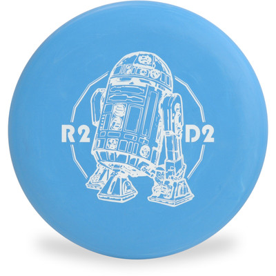 Discraft D CHALLENGER - STAR WARS Design R2 D2 Disc Golf Putter Front View