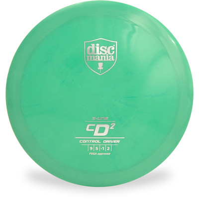 Discmania S-LINE CD2 Driver Golf Disc Green Front View