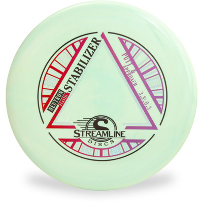 Streamline NEUTRON STABILIZER Disc Golf Putter and Approach Green Top View