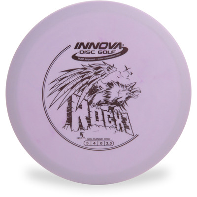 Innova DX ROCX3 Mid-Range Golf Disc Purple Top View