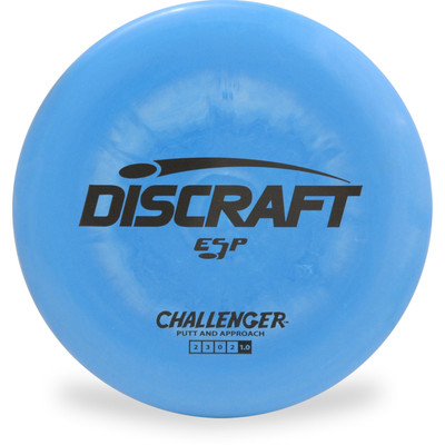Discraft ESP CHALLENGER Putter & Approach Golf Disc Top View
