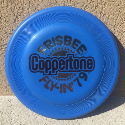 WHAM-O FASTBACK FRISBEE - COPPERTONE FLY-IN '79 FB8 - FLYING DISC