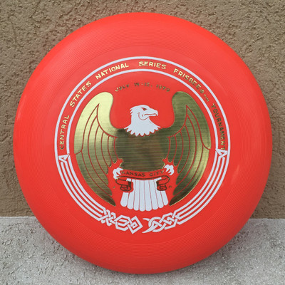 WHAM-O 80 MOLD - CENTRAL STATES NATIONAL KC - FRISBEE FLYING DISC