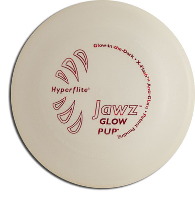 Hyperflite Pup Jawz - Glow in the Dark