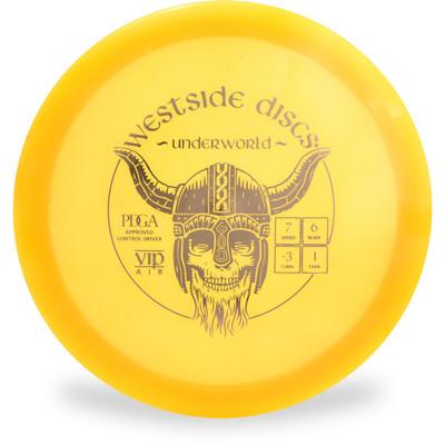 Westside VIP AIR UNDERWORLD Fairway Driver Yellow Top View