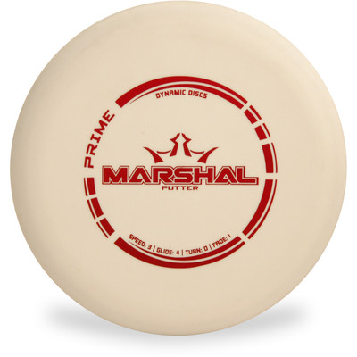 Dynamic Discs PRIME MARSHAL Putter & Approach Top View