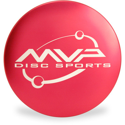 MVP METAL MINI - Large Driver Marker for Disc Golf Top View