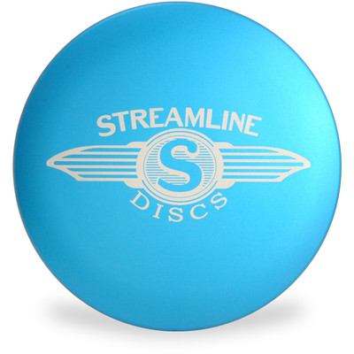 Streamline METAL MINI - Large Driver Marker for Disc Golf Top View