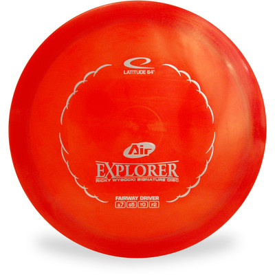 Latitude 64 OPTO AIR EXPLORER Driver Red Top View