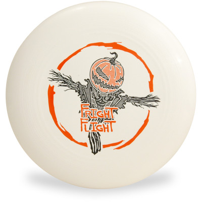 DISCRAFT ULTRA STAR 2019 FRIGHT FLIGHT ULTIMATE FRISBEE Top View