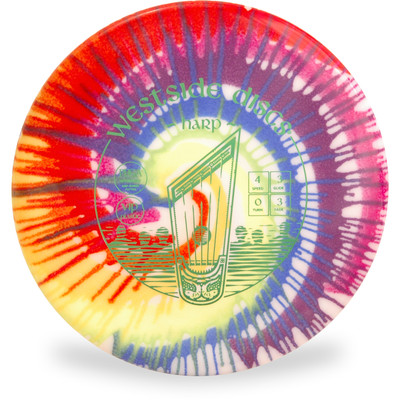 Westside VIP HARP Tie Dye Top View