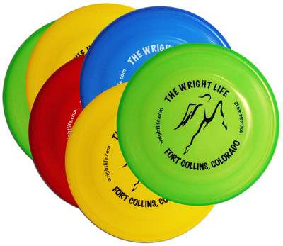 Wham-O FASTBACK SIX PACK - 6 Wright Life Frisbee Dog Discs