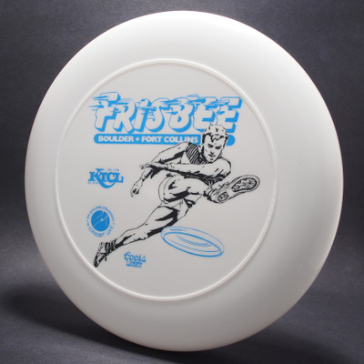 Frisbee Boulder Fort Collins White w/ Black and Blue Matte