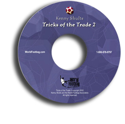 Tricks of the Trade 2 Footbag Freestyle DVD