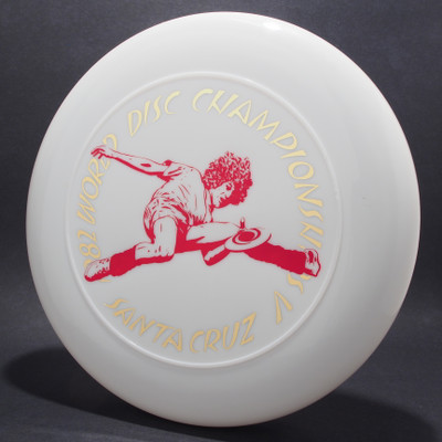 82 World Disc Championships V DB SCCA White w/ Red Matte and Metallic Gold