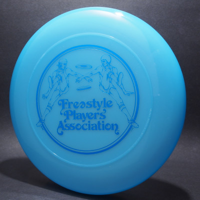 Sky-Styler FPA Original Freestyle Players Association Logo Clear Blue w/ Metallic Blue - T80 - Top View