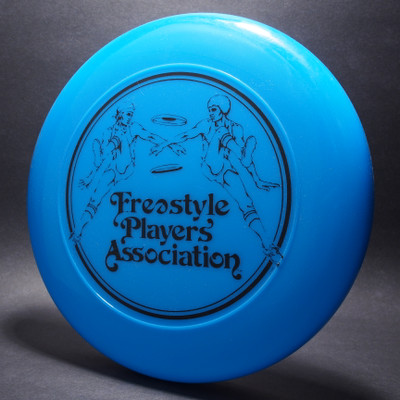 Original Freestyle Players Association Logo Opaque Blue w/ Black Matte - TR - Top View