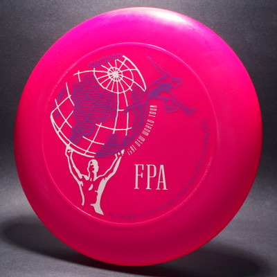 Sky-Styler FPA 1991 New World Tour Disc Bright Pink w/ Purple and White Matte