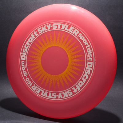 Sky-Styler Sun Pink w/ Yellow Matte Sun and White Matte Ring - T80