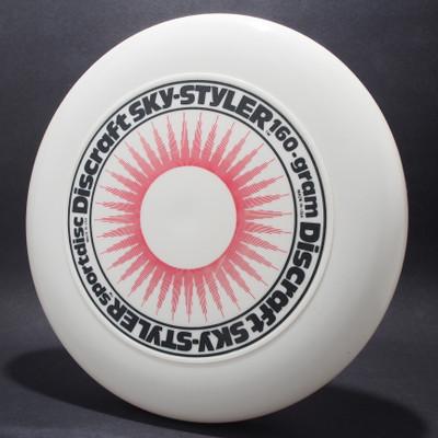Sky-Styler Sun White w/ Red Matte Sun and Black Matte Ring - T80