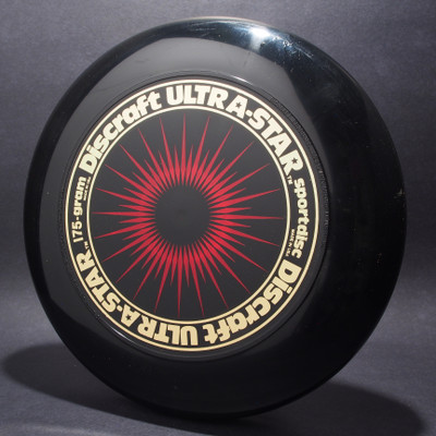 UltraStar StarBurst Black w/ Metallic Gold and Red Matte - NR