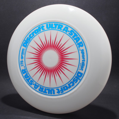 UltraStar StarBurst White w/ Metallic Blue and Red  Matte - NR