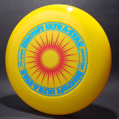 UltraStar StarBurst Yellow w/ Metallic Blue and Red Matte - NR