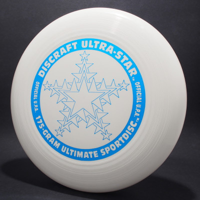 UltraStar Snowflake White  w/ Metallic Blue