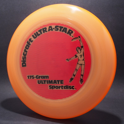 UltraStar Player Orange w/ Black and Red Matte