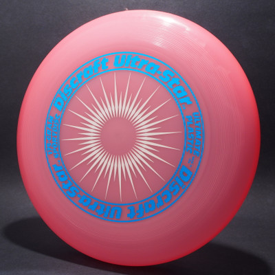 UltraStar StarBurst Pink w/ Metallic Blue and White Matte