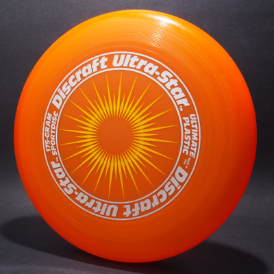 UltraStar StarBurst Orange w/ Metallic Silver and Yellow Matte