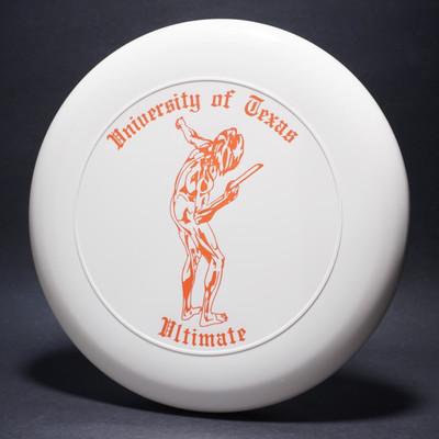 Sky-Styler University of Texas Ultimate White w/ Orange Matte-TR Top View