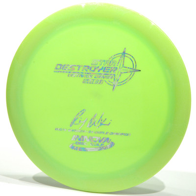 Innova Star Destroyer - Ricky Wysocki Signature 2X Lime Top View