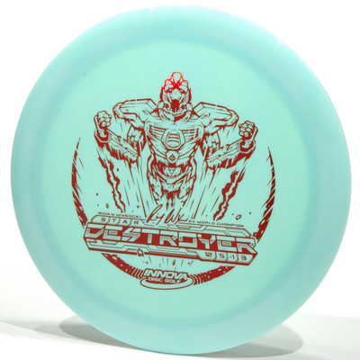 Innova Star Destroyer - SockiBot Wysocki Design Light Blue Top View