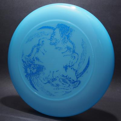 Sky-Styler Rasta Trio Blue w/ Metallic Blue - T80 - Top View