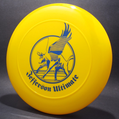 Sky-Styler Jefferson Ultimate Yellow w/ Blue Matte - T80 - Top View
