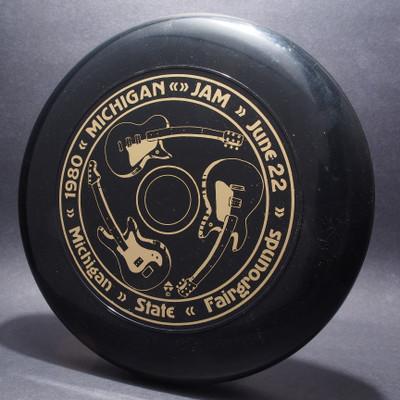Sky-Styler 1980 Michigan Jam Black w/ Metallic Gold - Thin Ring - Top View