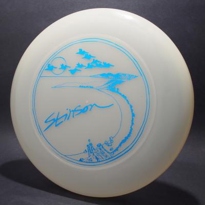 Sky-Styler Stinson Pelicans Clear w/ Metallic Blue - T80 - Top View